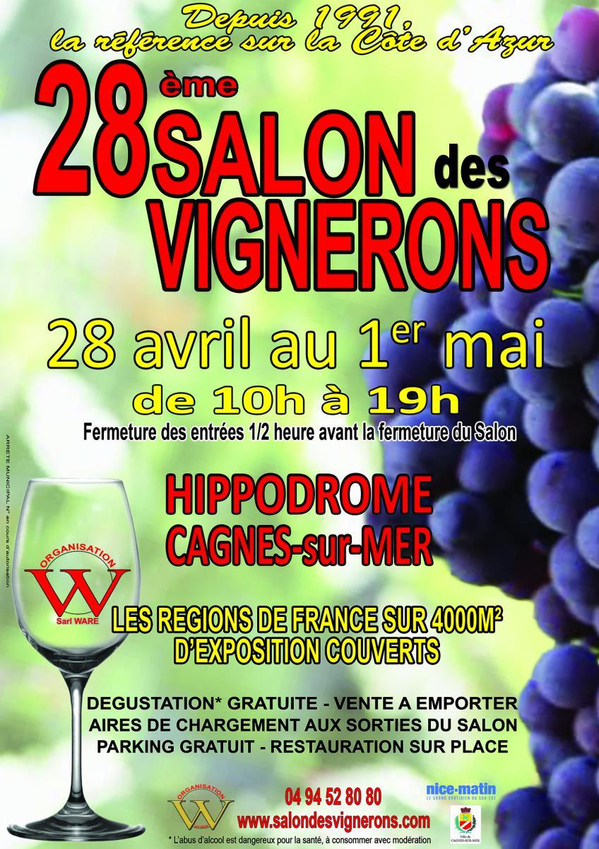 salon vins Cagnes sur Mer 2018